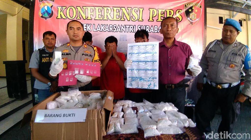 Polisi Bongkar Sindikat Pengedar Pil Koplo Jaringan Lapas Porong