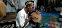 Ritual Nondoi diiringi oleh musik semacam gamelan yang disebut Petep. Ritual bisa berlangsung semalam suntuk. Biasanya digelar sesuai dengan niat yang punya hajat. (dok. Helena/Istimewa)