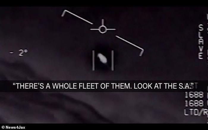 Penampakan UFO yang diakui eksistensinya. Foto: istimewa