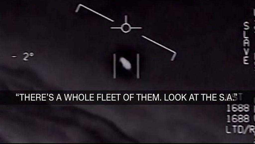 Rilis Pentagon soal UFO Dinilai Sebagai Pengalihan Isu Corona