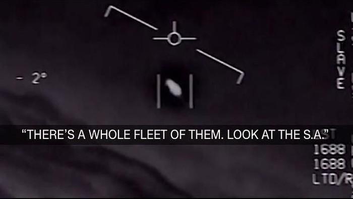 Penampakan UFO. Foto: istimewa
