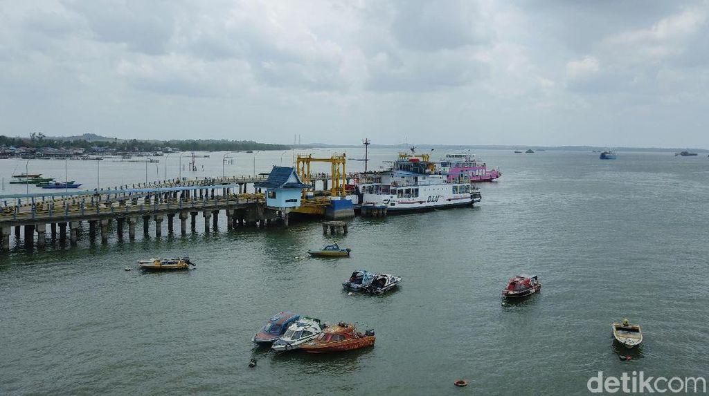 Ini Penampakan Pelabuhan di Calon Ibu Kota Baru RI