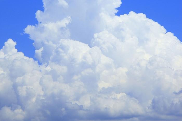 Towering cloud in summer