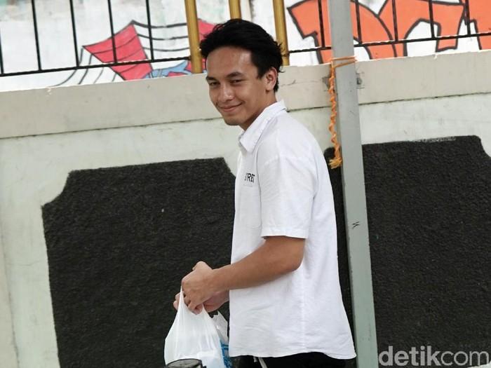 Jefri Nichol saat ditemui di PN Jakarta Selatan.