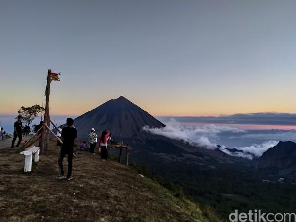 Bukit Wolobobo berada di Desa Turekisa, Kecamatan Gelowa Barat, Kabupaten Ngada, Flores, Nusa Tenggara Timur (NTT). (Aji Bagus/detikcom)