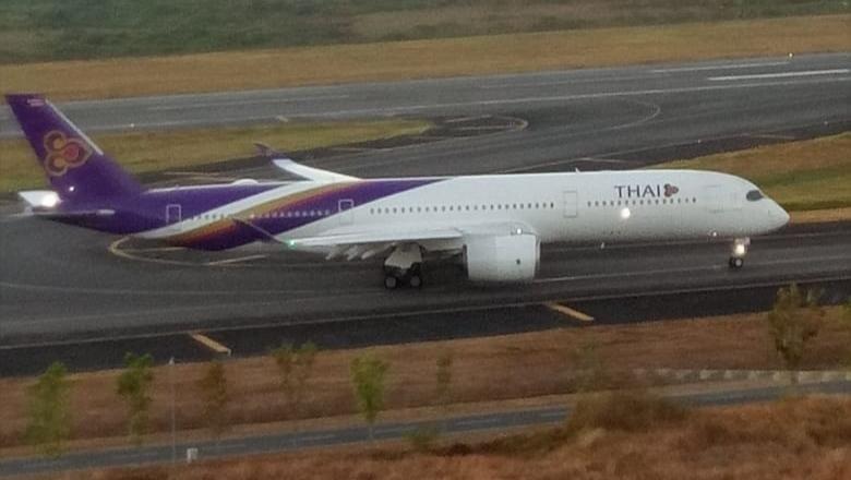 Penumpang Kena Serangan Jantung, Thai Airways Mendarat Darurat di Makassar