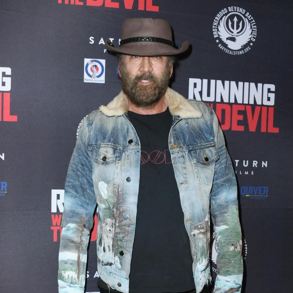 Mantul! Nicolas Cage Perankan Diri Sendiri di Film Fiksi