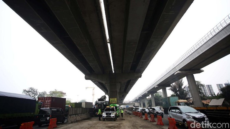 Jasa Marga Usul Tol Layang Cikampek untuk Mobil dan Bus-Truk Kecil