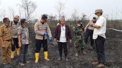 Cek Karhutla, Bupati OKI Minta Perusahaan Perkebunan Bantu Padamkan Api