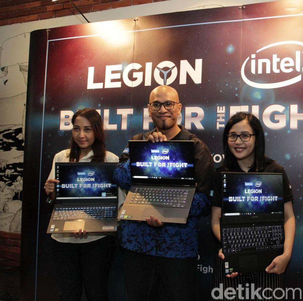 Lenovo Gelontorkan Jajaran Laptop Gaming Anyar
