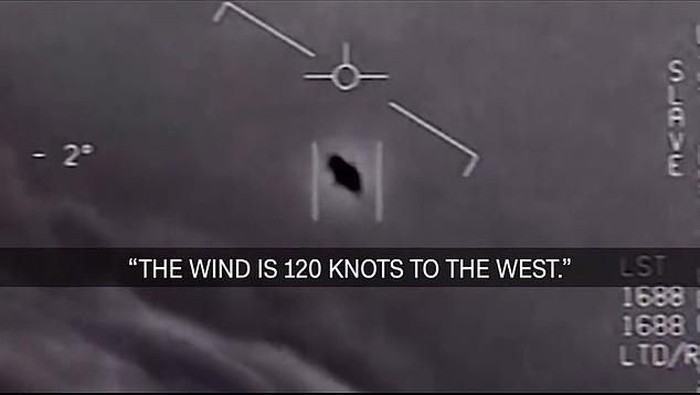 Penampakan UFO. Foto: YouTube