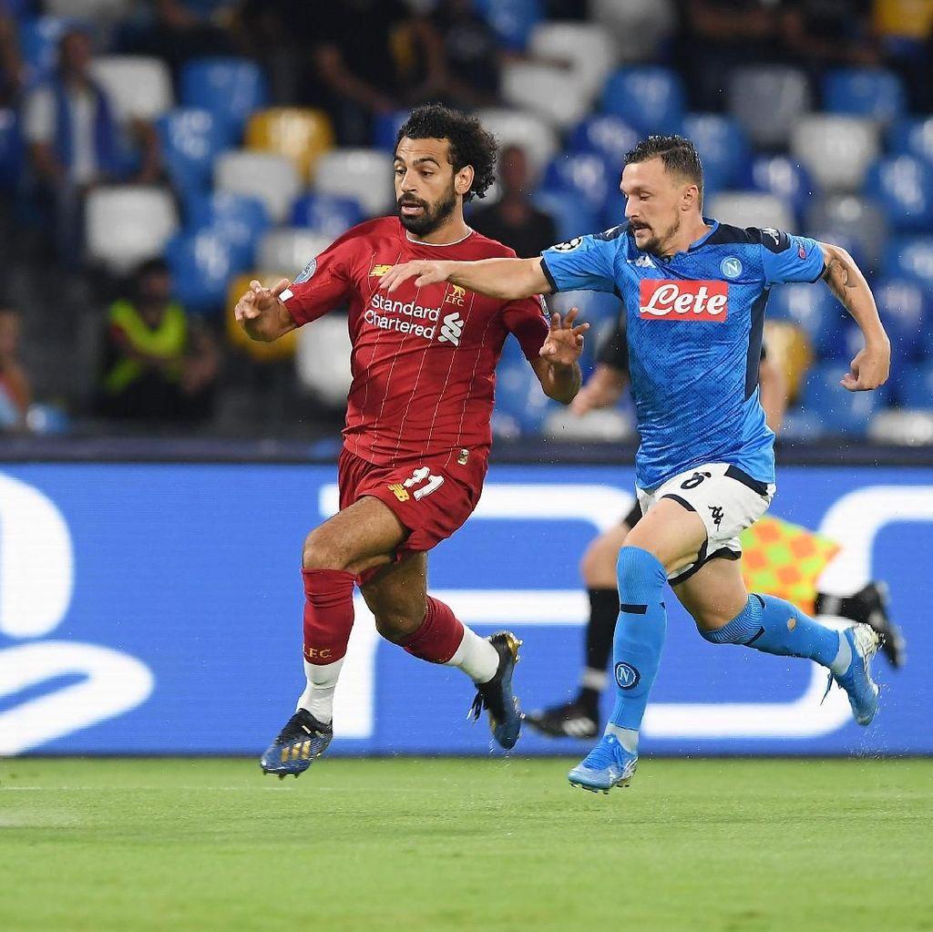 Napoli Vs Liverpool: Tak Ada Gol di Babak Pertama