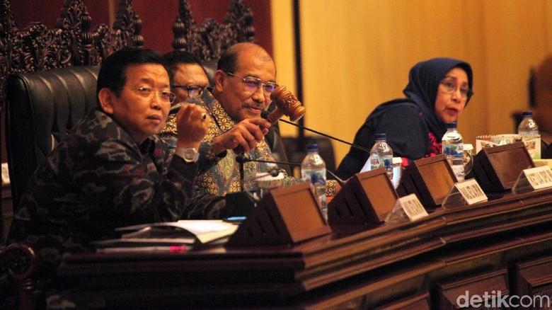 Hujan Interupsi Warnai Paripurna Pengesahan Tatib DPD RI