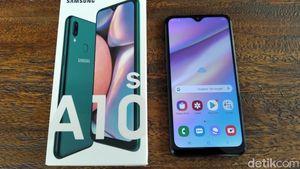 Galaxy A10s Jadi Andalan Ponsel Terjangkau Samsung