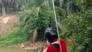 Flying Fox Motor di Rohul Riau yang Viral Sudah Ada Selama 20 Tahun