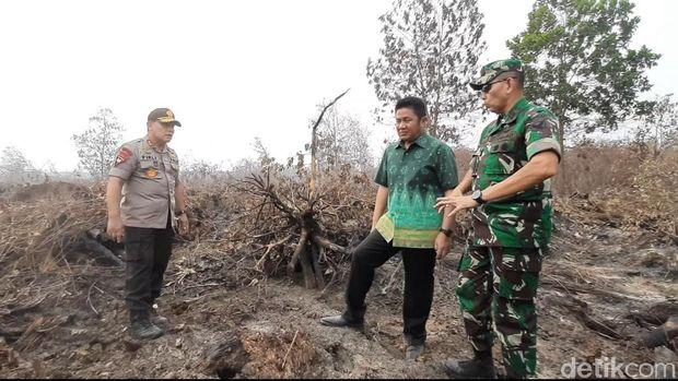 Gubernur Sumsel Ancam Cabut Izin Perusahaan Jika Tak Ikut Padamkan Api