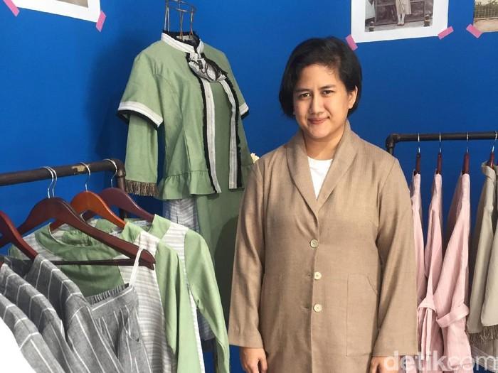 Amanda Indah Lestari, pendiri dan desainer label Lekat di Hati. (Foto: Daniel Ngantung/Wolipop)