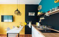 Dapur minimalis modern.