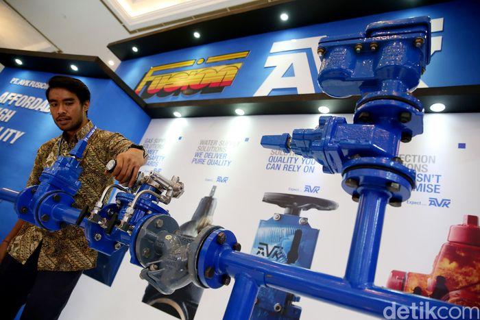 Salah satu Produsen solusi perpipaan, katup, hidran, dan instalasi air dan gas asal Denmark, AVK ikut dalam ajang tersebut. Ia pun mengaku akan terus meningkatkan penjualan produknya di Indonesia melalui anak perusahaannya yang bernama PT AVK Fusion Indonesia.