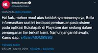 Hilang di Play Store, Aplikasi Bukalapak Sedang Upgrade Pembaruan