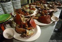 Ada juga menu mie kepiting (Rifkianto/detikcom)