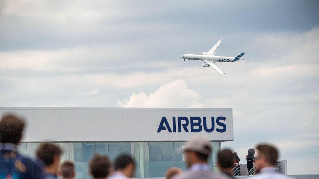 Airbus A220 Diperintahkan Kurangi Kecepatan di Atas Ketinggian 8.800 Meter
