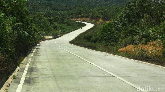 Sebagai calon ibu kota baru Kabupaten Penajam di Kalimantan Timur, tampaknya sudah menyiapkan diri. Terlihat dari jalan-jalan mulus yang membelah hutan.