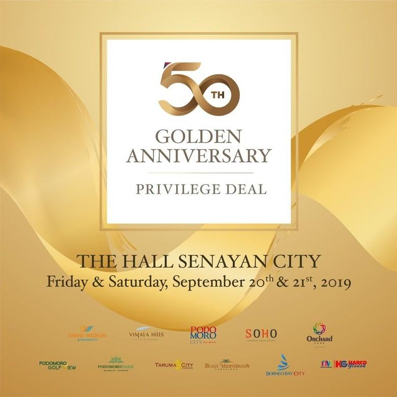 HUT Ke-50, Agung Podomoro Gelar Acara Khusus untuk Pelanggan Setia