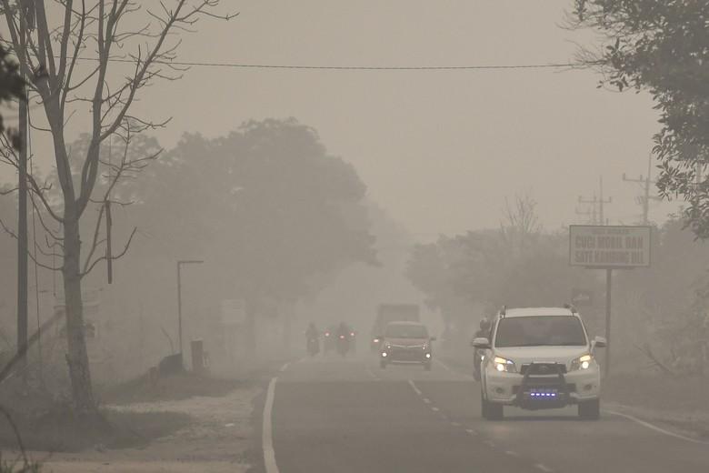 Data AirVisual: Udara Palangkaraya Pagi Ini Masih Berbahaya