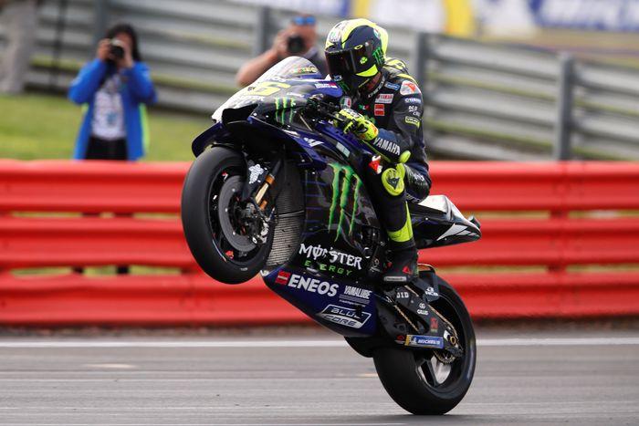 Valentino Rossi menghadapi tantangan besar di MotoGP Aragon, akhir pekan ini. (Foto: David Klein / Reuters)