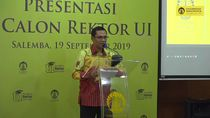 Presentasi 7 Calon Rektor Universitas Indonesia Digelar