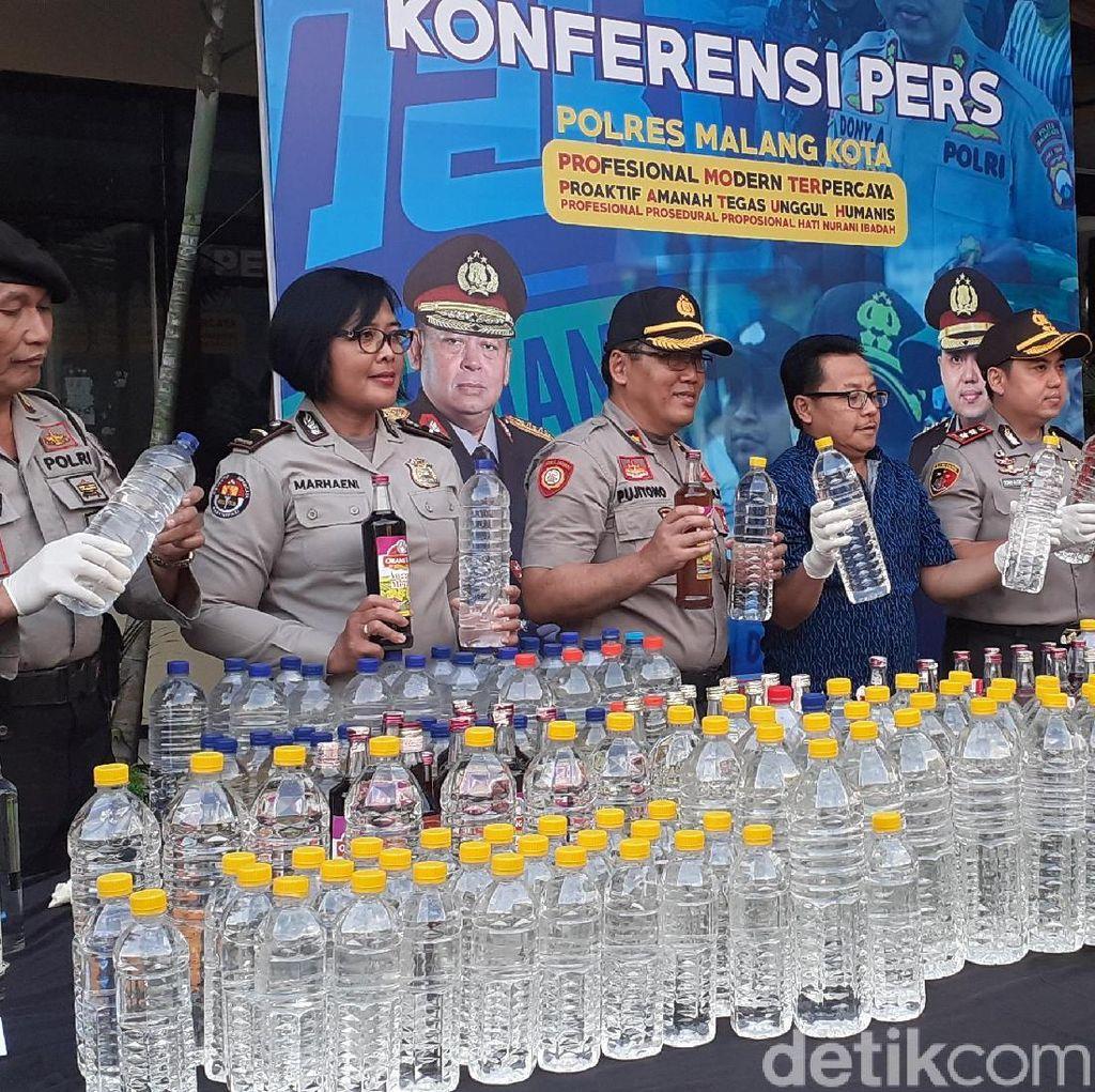 Polisi: Ada Kadar Alkohol Tinggi di Darah 4 Warga Kota Malang yang Tewas