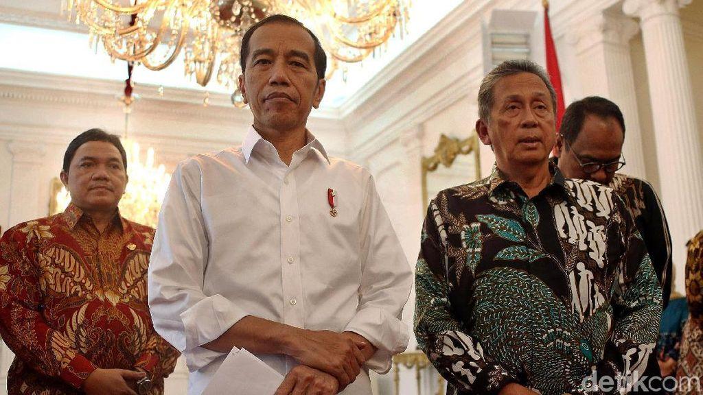 Jokowi Terima Laporan Keuangan Pemerintah Pusat dari BPK