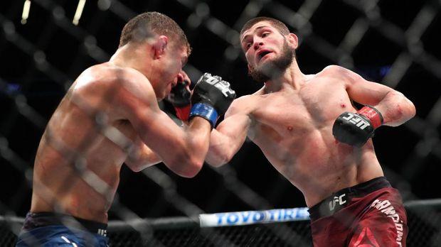 Khabib belum terkalahkan di ajang UFC.