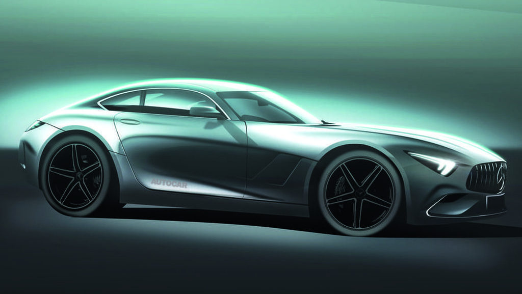 Si Cantik Mercedes-AMG GT Terbaru Bakal Berbekal Hybrid
