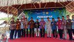 Peresmian PLTBm di Pulau Siberut