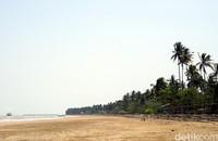 Penajam Paser Utara, calon ibu kota baru punya kesamaan dengan Jakarta. Sama-sama punya pantai cantik. Salah satunya, Pantai Tanjung Jumlai. (Wahyu Setyo/detikcom)