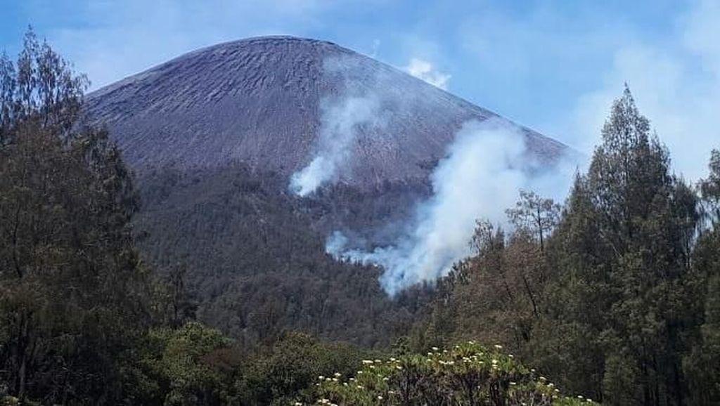 Semeru Kebakaran, Pendakian Hanya Sampai Ranu Kumbolo