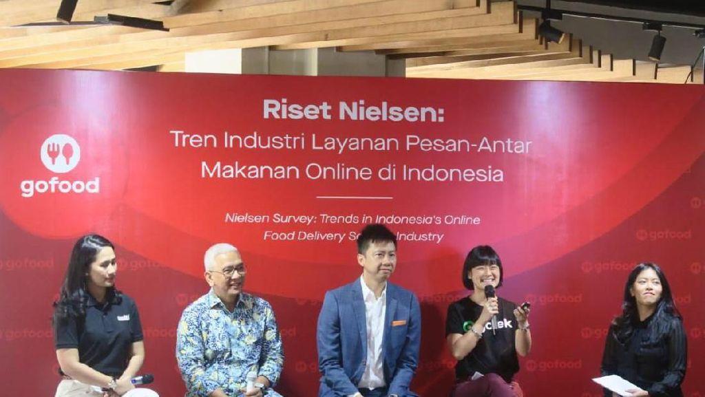 GoFood Kuasai 75% Pasar Layanan Pesan Antar Makanan Indonesia