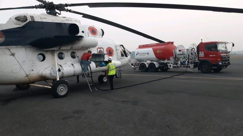 Pertamina Operasikan Refueller Avtur untuk Pasok Helikopter BNPB