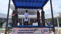 Kasus Hukum Cambuk di Aceh Menurun, Tak Ada Perkara LGBT