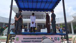 Kasus Hukum Cambuk di Aceh Menurun, Tak Ada Kasus LGBT