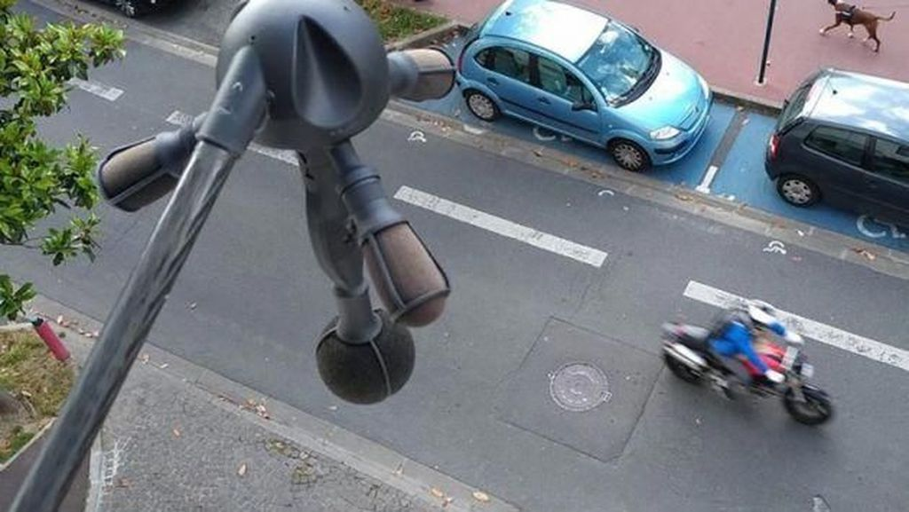 Paris Mulai Pasang Alat Pendeteksi Kebisingan Kendaraan