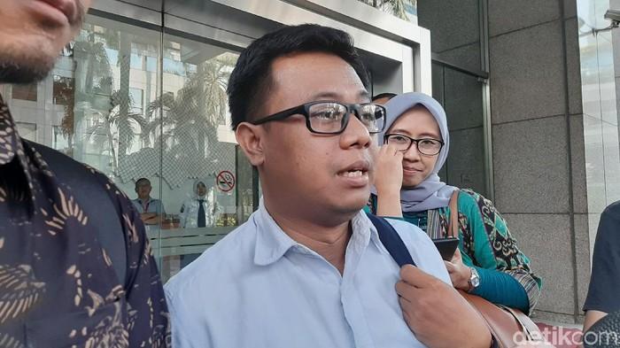 Ppeneliti Transparency International Indonesia (TII) Wawan Suyatmiko (Lisye-detikcom)