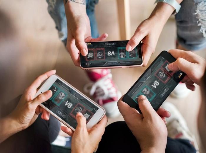Ilustrasi main game mobile