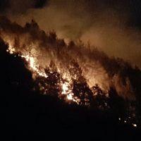Gunung Semeru yang terbakar (tnbromotenggersemeru/Instagram)