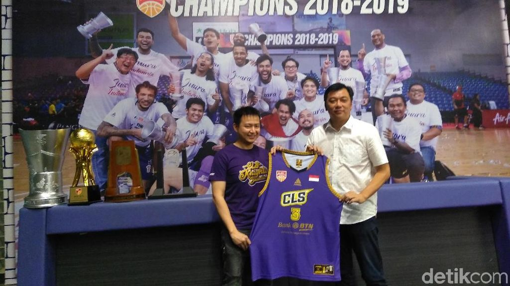 Tim Basket CLS Knights Vakum dari Kompetisi Profesional