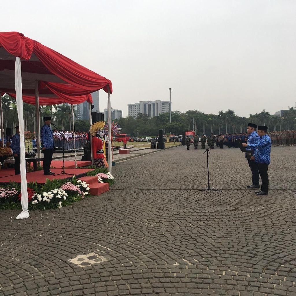 Peringati 74 Tahun Rapat Raksasa Lapangan Ikada, Anies Bicara Keadilan