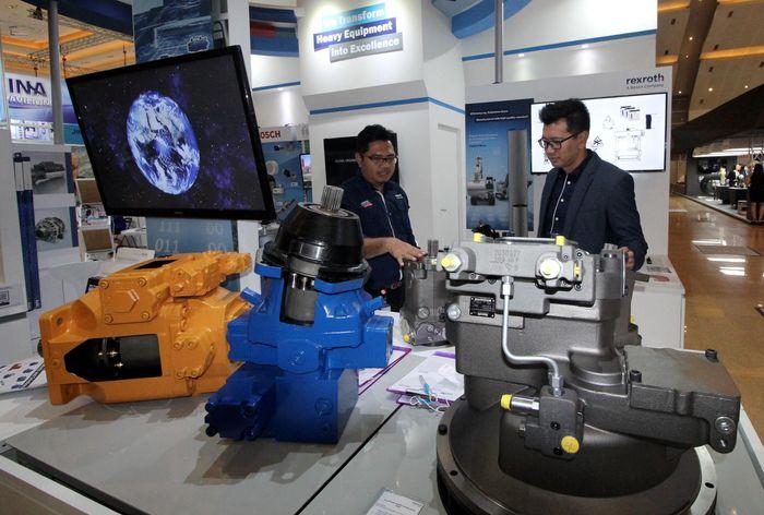 Bosch ikut serta dalam ajang Mining Indonesia 2019 di Jakarta, Kamis (19/9). Solusi Bosch memastikan kemudahan penggunaan dan pengaplikasian guna menjadikan operasi pertambangan jauh lebih produktif dan efisien. Foto: dok. Bosch