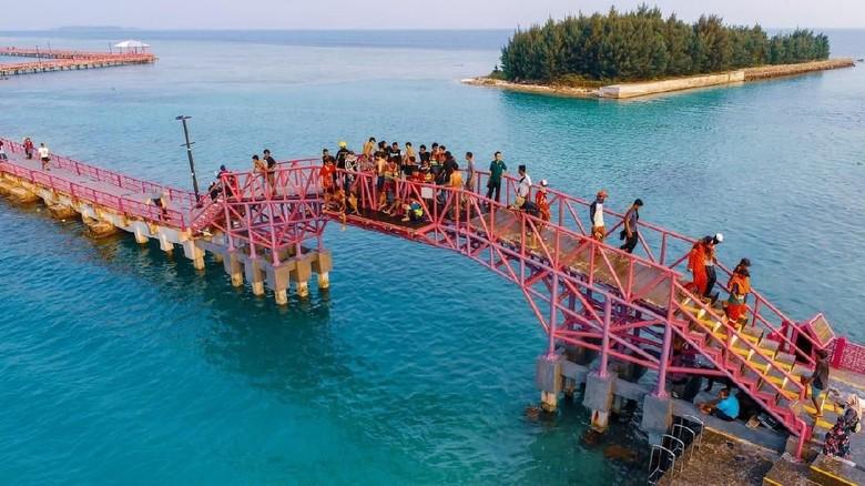 Ilustrasi Pulau Tidung (Istimewa/Sudin Kepulauan Seribu Dinas Pariwisata)